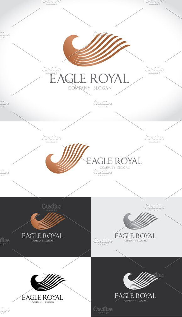 Eagle Royal by Super Pig Shop on @creativemarket
