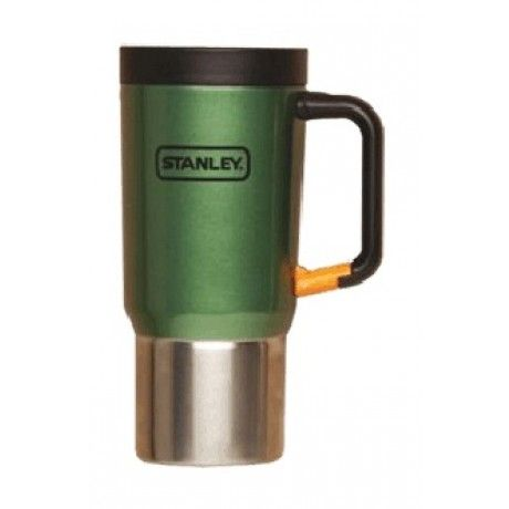 A leak-proof lid and Clip Grip handle add outdoor functionality to this 0.59-litre travel mug. Stainless-steel construction makes it the ideal choice for your daily commute, an extended road trip, or a camping trip. The mug features double-wall insulation; it's also dishwasher safe, and it comes with a lifetime warranty.