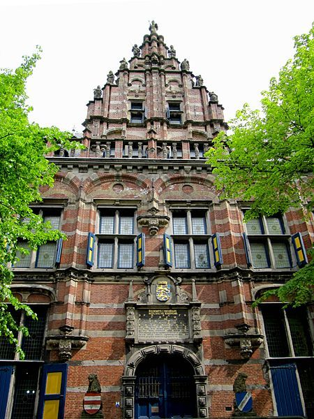 Leeuwarden - Kanselarij - Building started in 1566 and  finished in 1571 - The Building is (was) used fore many different things, it became a Hospital, a Town Hall, a Court building, a Jail, a Military station, and until 2011 it was home to the Frisian museum.