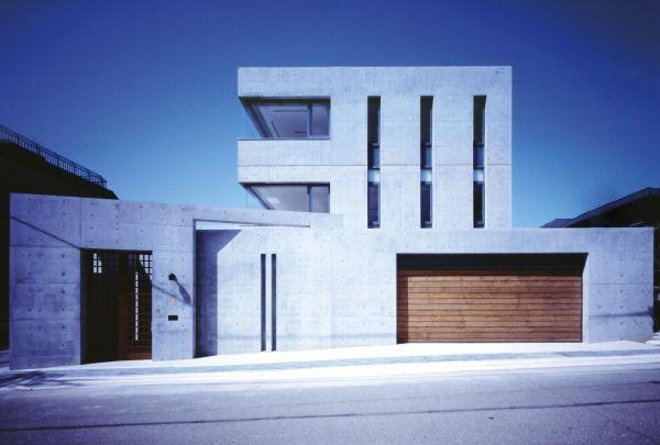 コンクリート造・RC造の家 | アトリエ付きの二世帯 | アーキッシュギャラリー