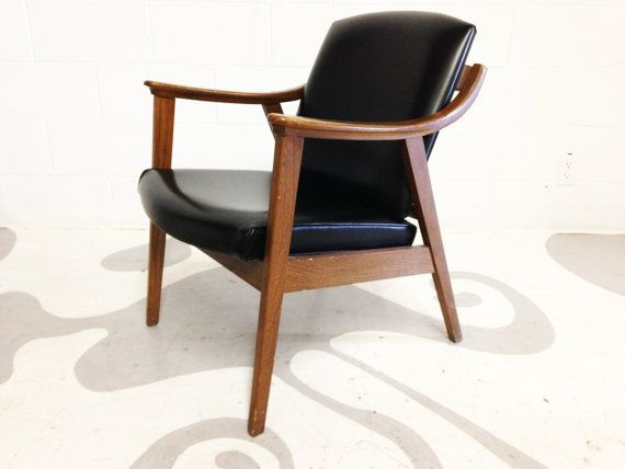 Mid-Century Modern Armchair, $199 from dsartereno via Etsy (search mid-century modern armchairs)