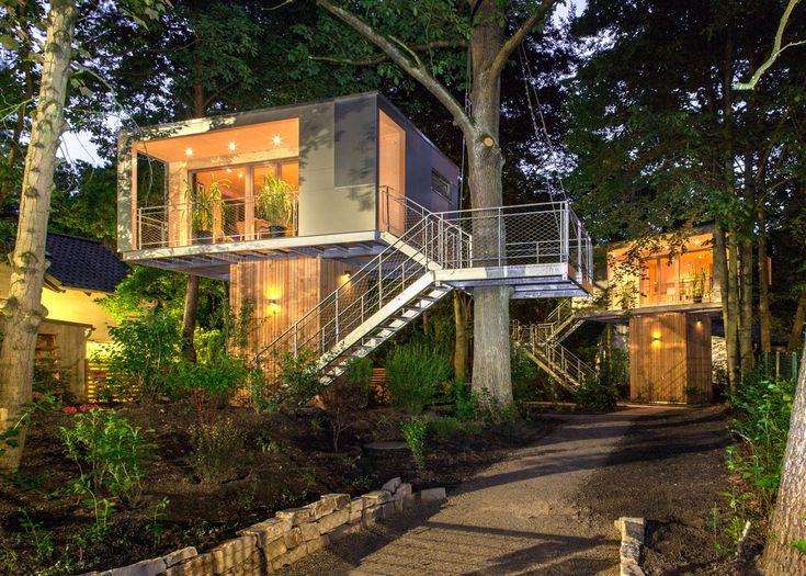 Die Besten 17 Ideen Zu Andreas Wenning Auf Pinterest | Baumhaus ... Modernes Baumhaus Pool Futuristisches Konzept