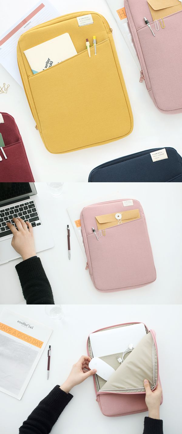 A Low Hill Pocket Document Pouch can be your favorite schoolmate to carry your notebooks and writing tools or be your best co-worker by holding important documents, tablets or a laptop securely inside the padded compartment!