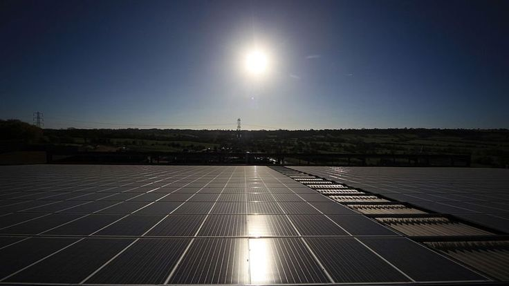 The National Grid says alternative fuel generated more electricity than coal and gas in the UK on Wednesday.
