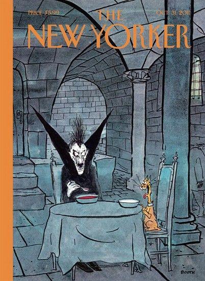 The New Yorker, October 31, 2011. Illustration: George Booth.