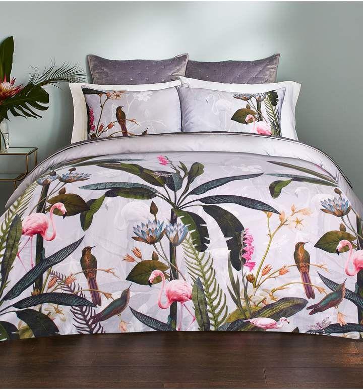 Ted Baker London Pistachio Border Duvet Cover Sham Set Bedroom
