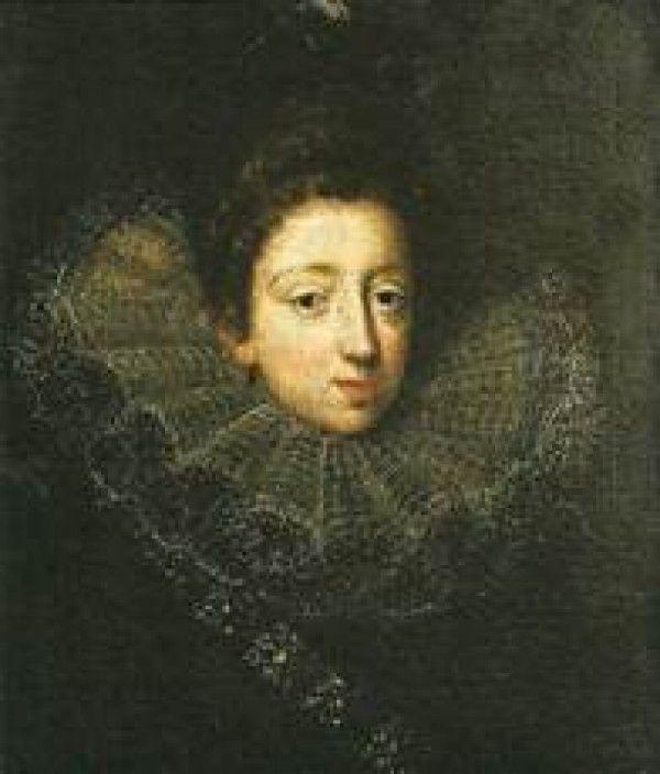 Bibiana (*1578). Ta se údajně jako jediná vdala z lásky. Takhle neuvěřitelně jí to klaplo s Franceskem Gonzagou markýzem z Castiglione. Zachovaly se překrásné zamilované dopisy, které jí psal. Vyvedli spolu čtyři děti. Syn Ferdinando, pokračovatel rodu Gonzaga, se oženil s Olympií z rodu Sforza a Visconti a dcera Giovanna si vzala Jiřího Adama Martinice. Vážně! Nejstaršího syna Bořity z Martinic, který byl v Praze kdysi vyletěl z okna Starého královského paláce