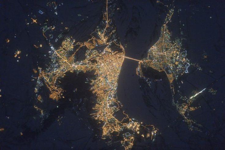 Россия из космоса: как мы выглядим / Научный хит