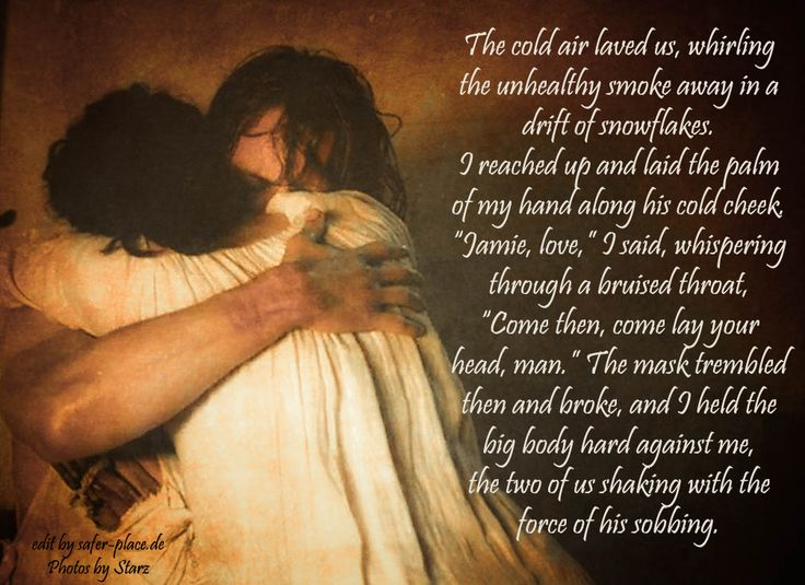 """TV series, book """"Outlander"""" quote."""