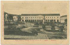 Plaza Sucre y Colegio de los Sagrados Corazones, Quito-Ecuador