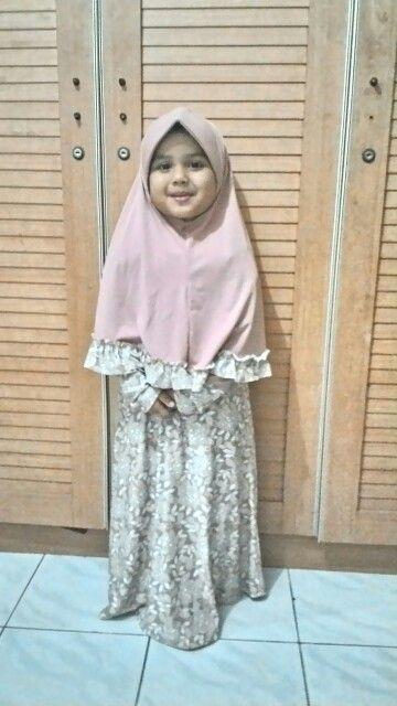 Siapa yang mau pesan baju muslim anak-anak silahkan inbox