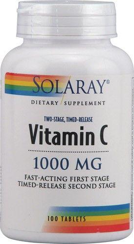 Solaray Vitamin C 1000 mg - 100 Tablets