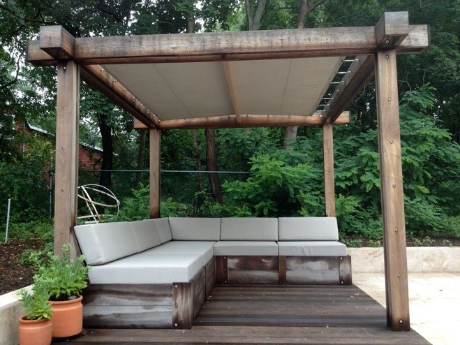 Best 25 Modern Pergola Ideas On Pinterest Modern