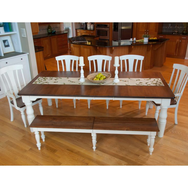 Extendable Table With Up To 12 Extensions For Your Whole Family! #diningroom  French Farmhouse