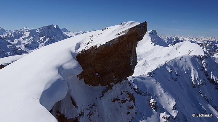 Le Seneser - Picio Sas dla Porta | Sci alpinismo / Racchette da neve | Al Plan / San Vigilio / St. Vigil | Dolomiti, escursioni, e passeggiate.