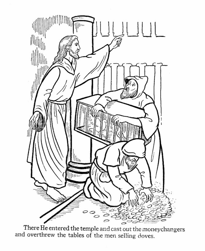 easter story coloring pages - Bible Coloring Pages Easter Story