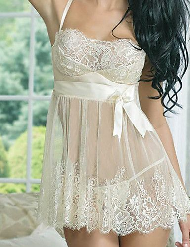 Sexy delicate lingerie for real women. Like it? Get this lace night gown at only $7.59. Enjoy up to 85% discounts to all categories.