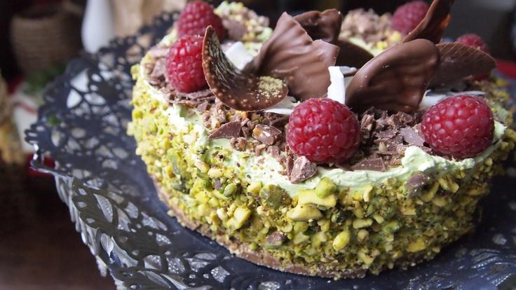 Pistacio delux-cake