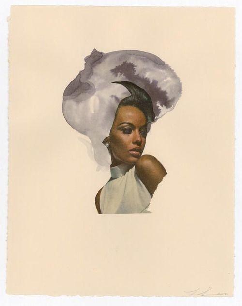 blackcontemporaryart: Lorna Simpson Mixed Grey, 2012.