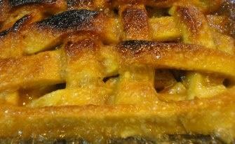 Apple & cinnamon pie...  From Nigella Lawson's cookbook...