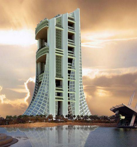Eko - The Ekological Small Building by 10 Raisons Architects - http://www.yankodesign.com