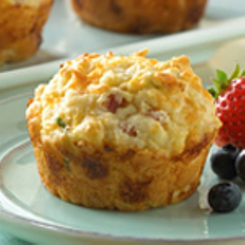 Medifast Ham & Cheese Omelet Muffins | Medifast Lean and Green Meals ...