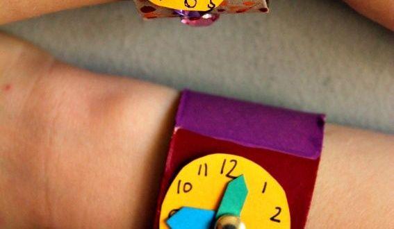 Zaman Kavramı ve Saat Sanat Etkinliği - Okul Öncesi Etkinlik Kütüphanesi - Madamteacher.com