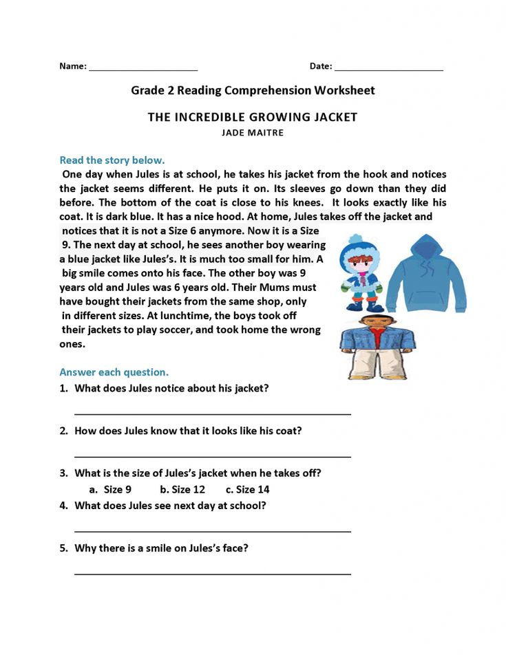 2nd Grade Reading Worksheets   Best Coloring Pages For ...