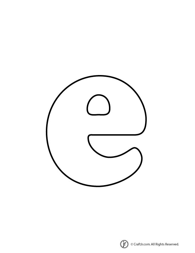 Lowercase Bubble Letter e | Quilt applique, thread ... The Letter E In Bubble Letters