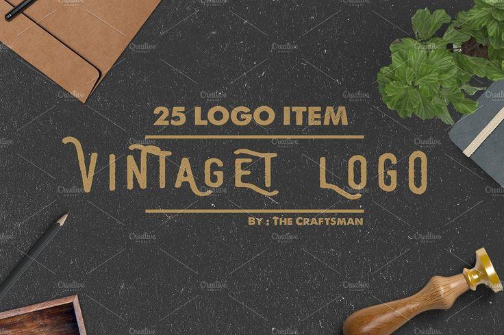 Logo Creation Kit by The Craftsman on @creativemarket