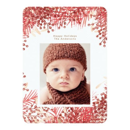 Red Berries Frame Christmas Holiday Photo Card Pretty Berries Frame Christmas Holiday Photo Card White Berries Frame Christmas Holiday Photo Card It's a Wonderful Life Christmas Photo Card #phrosnerasdesign #holidaycards #photocards #holidayphotocards #christmascards #merrychristmas #merry #christmas #zazzle #zazzlecards #greetingcards #zazzlephotocards #zazzleholiday #zazzleholidaycards #zazzlechristmas #blackfriday #cybermonday
