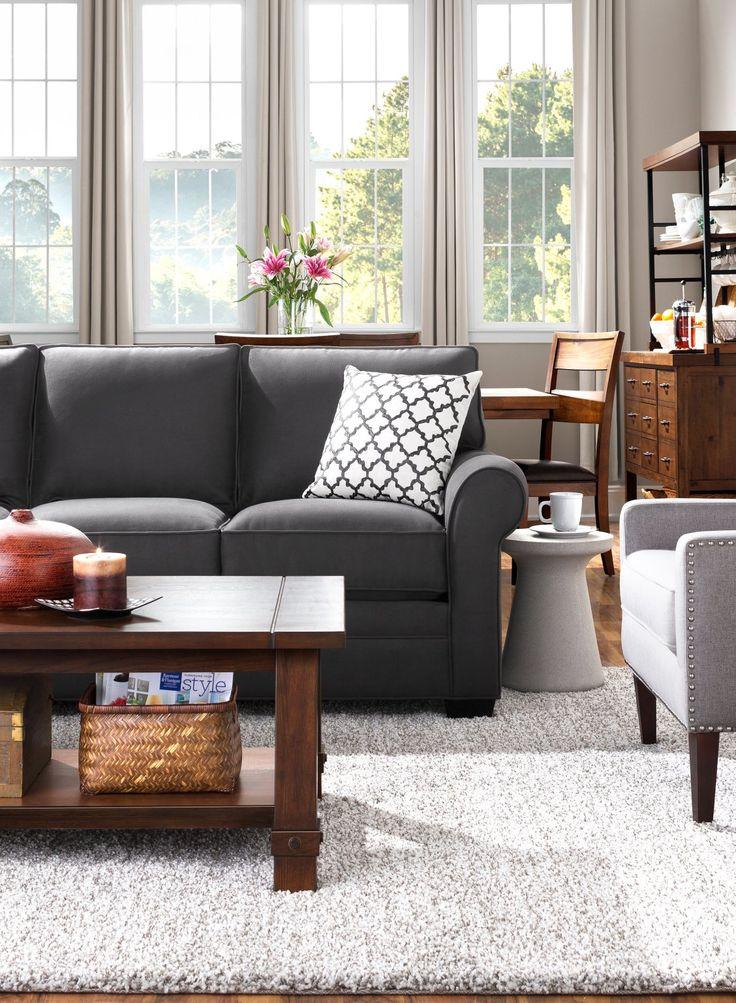 Glendora Microfiber Sofa Microfiber sofa, Home decor, Sofa