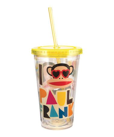 Look what I found on #zulily! Paul Frank Travel Cup by Paul Frank #zulilyfinds