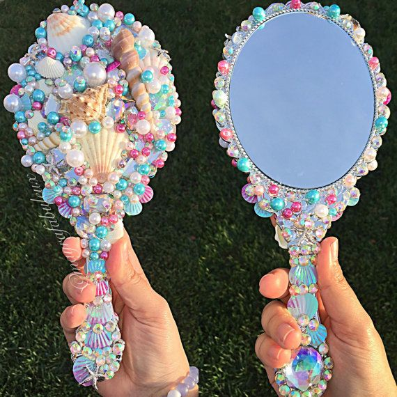 Mermaid Mirror Makes the perfecf Mermaid Gift for by mayrafabuleux