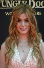 "Katherine McNamara attends the premiere of Disney's ""The Jungle Book"" http://celebs-life.com/katherine-mcnamara-attends-premiere-disneys-jungle-book/  #katherinemcnamara"