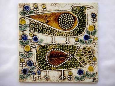 Lisa Larson. Bird wall tile/plaque. I actually own this one too!