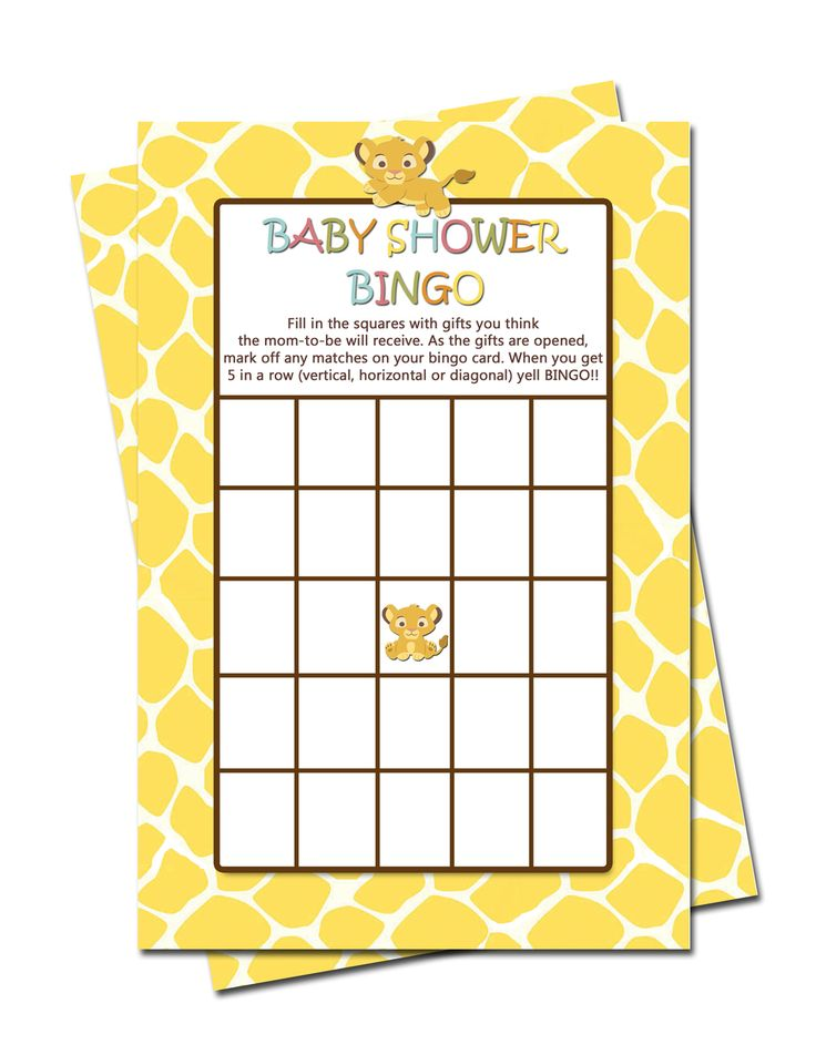 Simba Lion King Baby Shower Games Pregnancy How Sweet - partyexpressinvitations