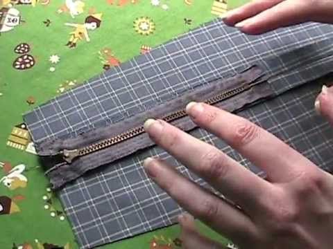 This woman has fan-tas-tic tips and trics for all sewing items! Very clever alternative ways to get a neat result. How to Sew a Zipper In a Seam