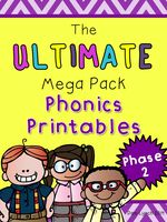 Ultimate Phase 2 Phonics Pack - Resources - TES