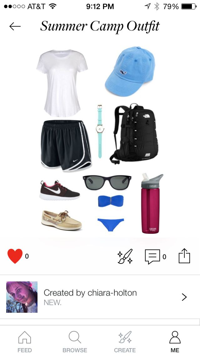 Summer Camp Outfit and Essentials