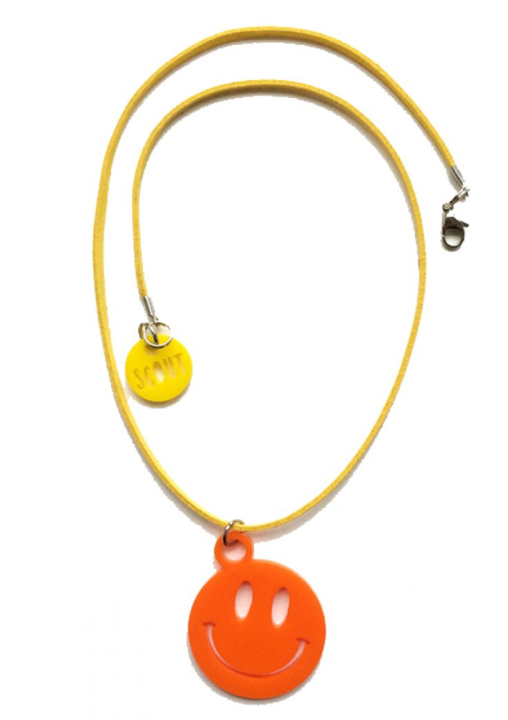 Smile acrylic necklace for kids