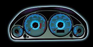 Honda Accord EX/LX Manual 98  Reverse Glow Gauges