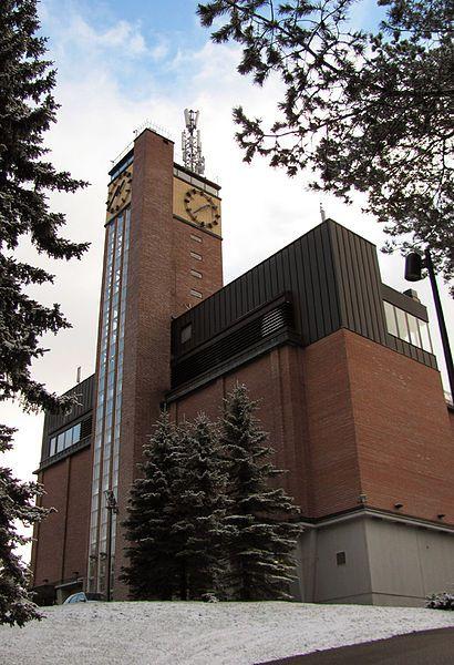 Vesilinna tower in Jyväskylä, Finland.