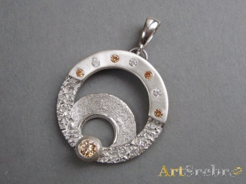 Silver pendant-galatea
