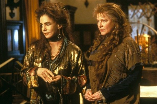 The Aunts, Frances and Jet Owens - in the 1998 movie PRACTICAL MAGIC