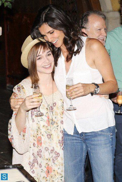 NCIS Los Angeles - 100th Episode Celebration Photos. Kensi & Smith