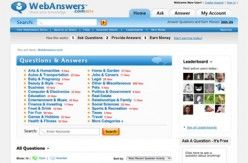 Webanswers is a website where you have to answer the questions posted by any user and you can even ask the questions. It is free to register in Webanswers and you will enjoy...