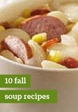 Try these seasonal soups for your next meal!