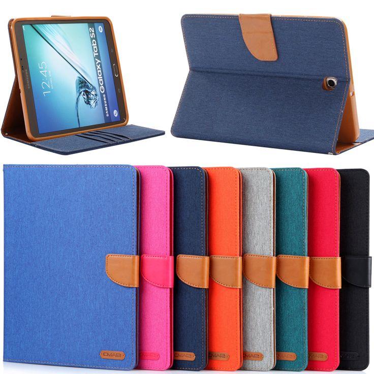 Ковбой шаблон для 8 Samsung Galaxy Tab S2 8.0 T710 T715 tablet складной фолио слот защитная карта настольная подставка держатель чехол
