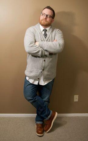 Fashion for big men …